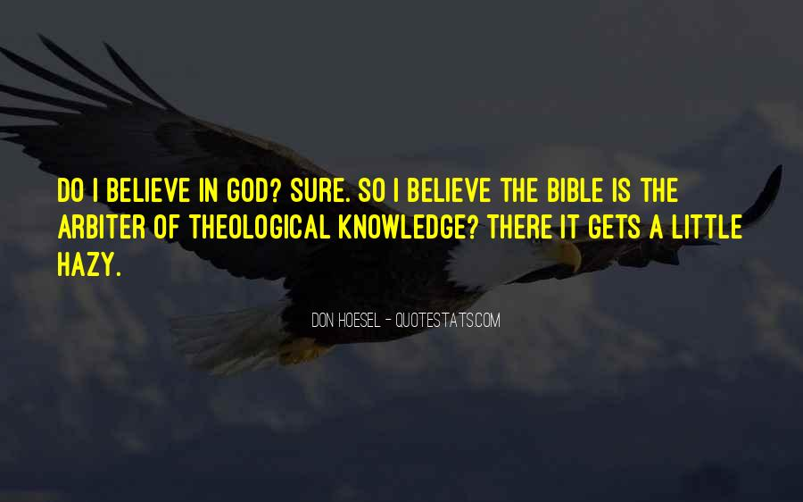 Quotes About Knowledge In The Bible #680600