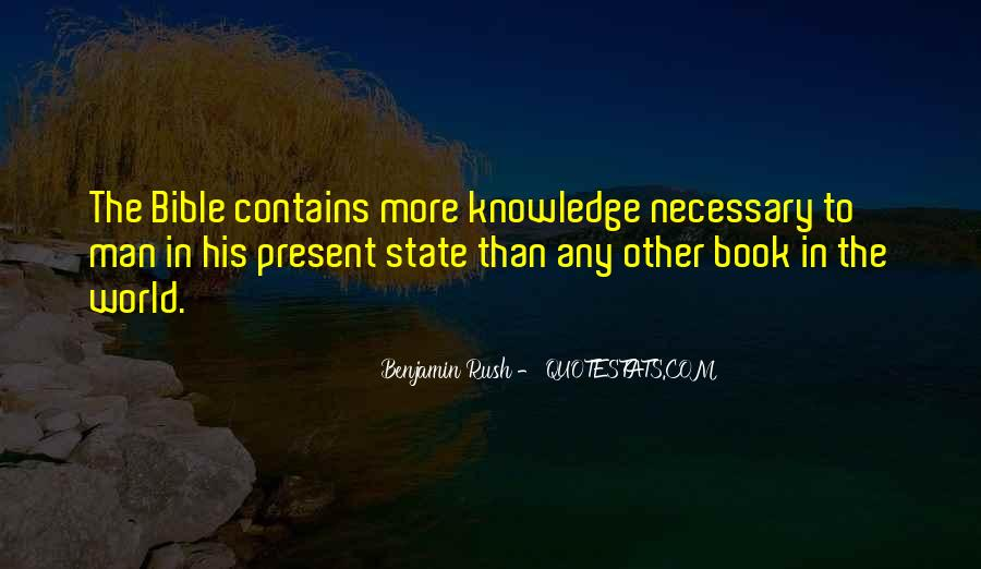 Quotes About Knowledge In The Bible #855910
