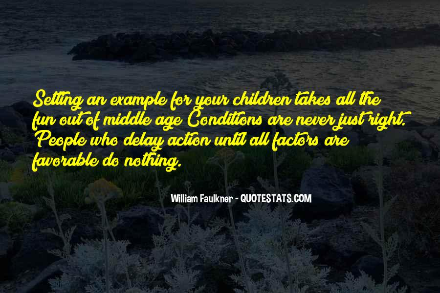 Quotes About Setting The Right Example #1801793
