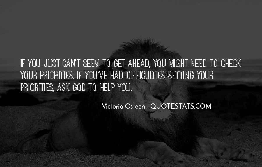 Quotes About Setting Priorities #1221145