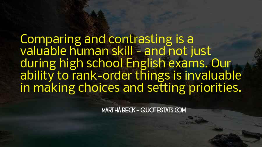 Quotes About Setting Priorities #518876
