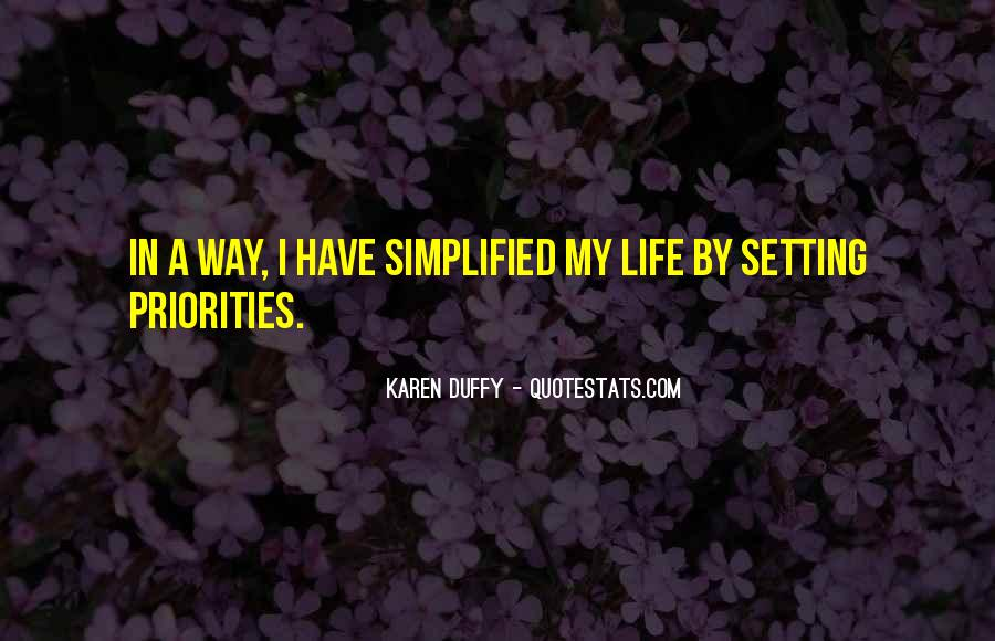Quotes About Setting Priorities #559774