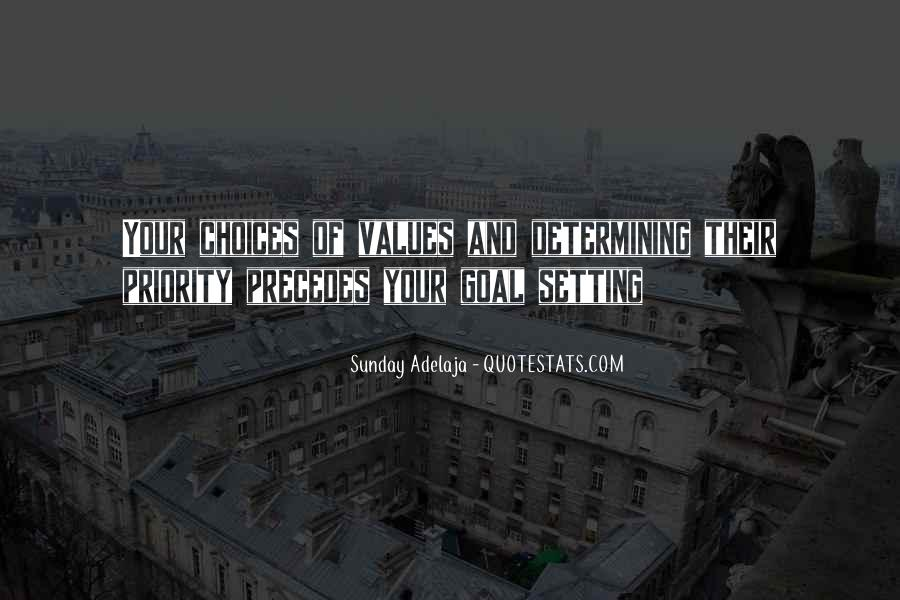 Quotes About Setting Priorities #642261