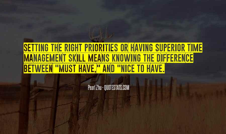 Quotes About Setting Priorities #783718