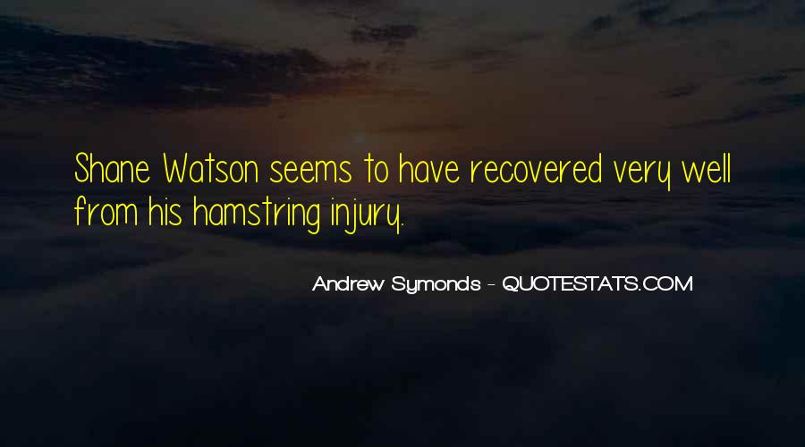 Quotes About Hamstrings #1355794