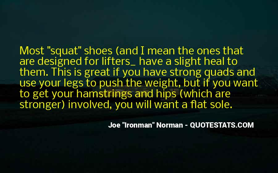 Quotes About Hamstrings #531120