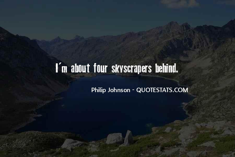 Quotes About Skyscrapers #59789