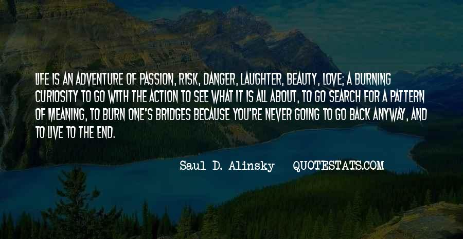 Quotes About Burning Your Bridges #1442593