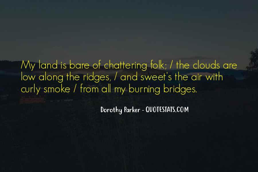 Quotes About Burning Your Bridges #1653790