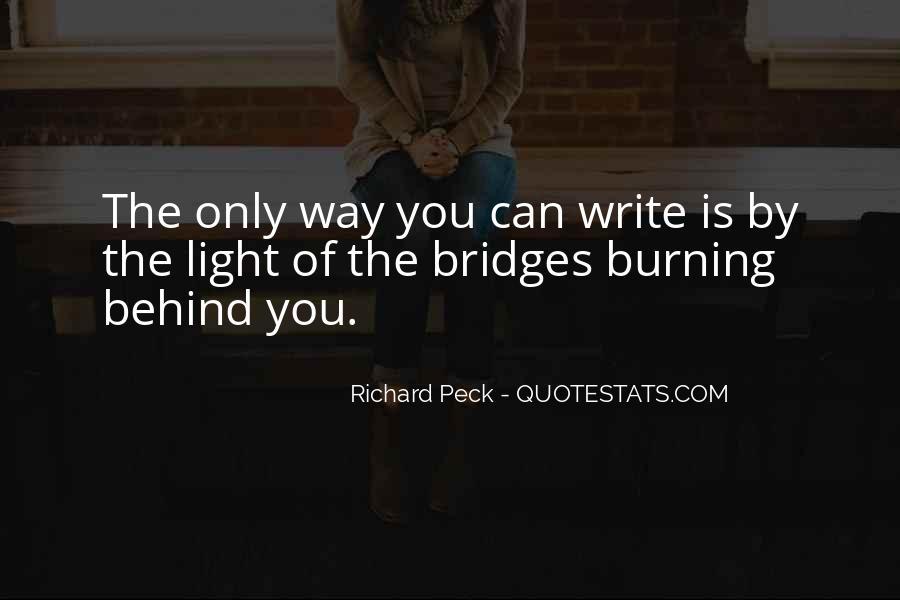 Quotes About Burning Your Bridges #809219