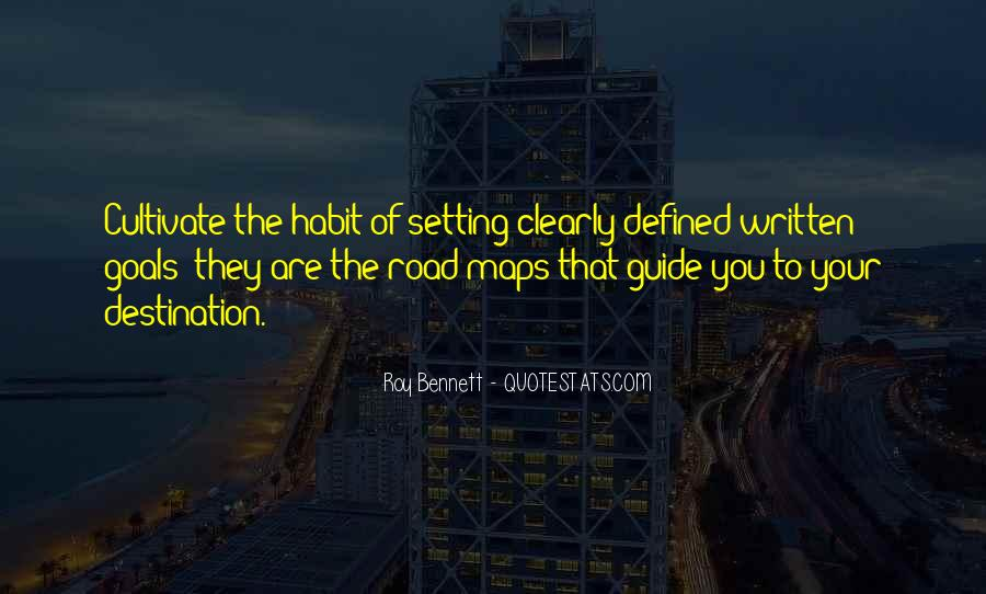 Quotes About Setting Goals In Life #1341993