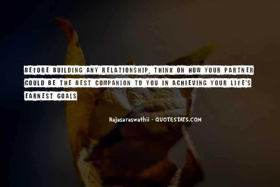 Quotes About Setting Goals In Life #1390704