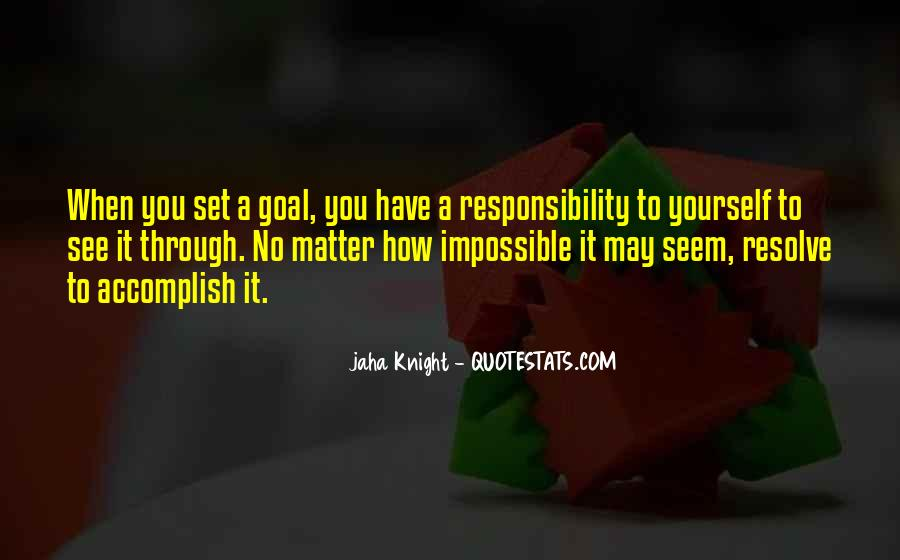 Quotes About Setting Goals In Life #1559251