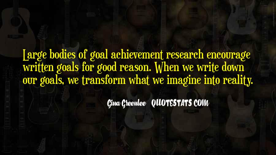 Quotes About Setting Goals In Life #349575