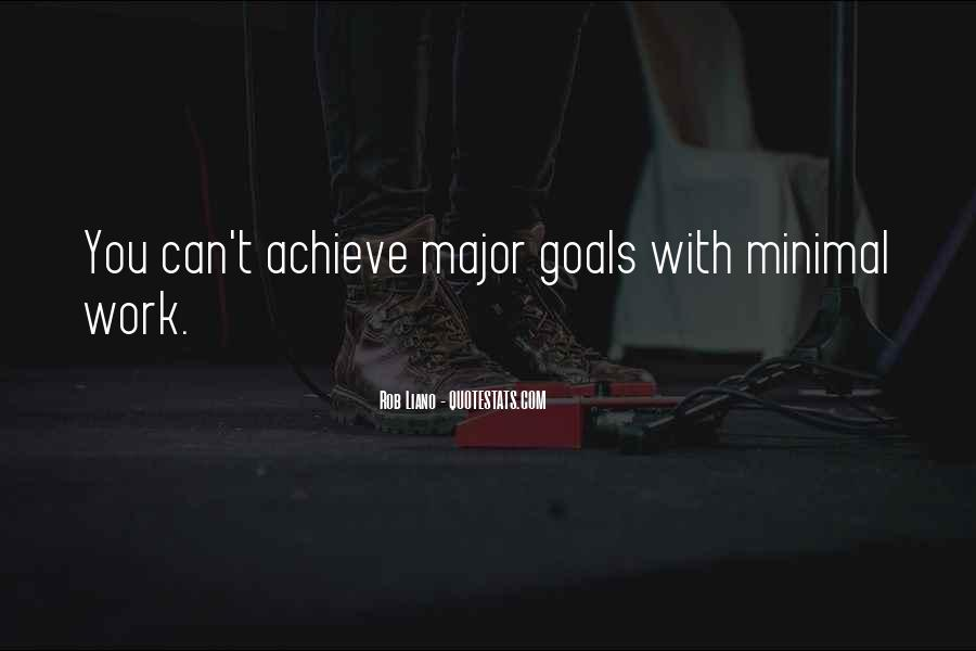 Quotes About Setting Goals In Life #38414
