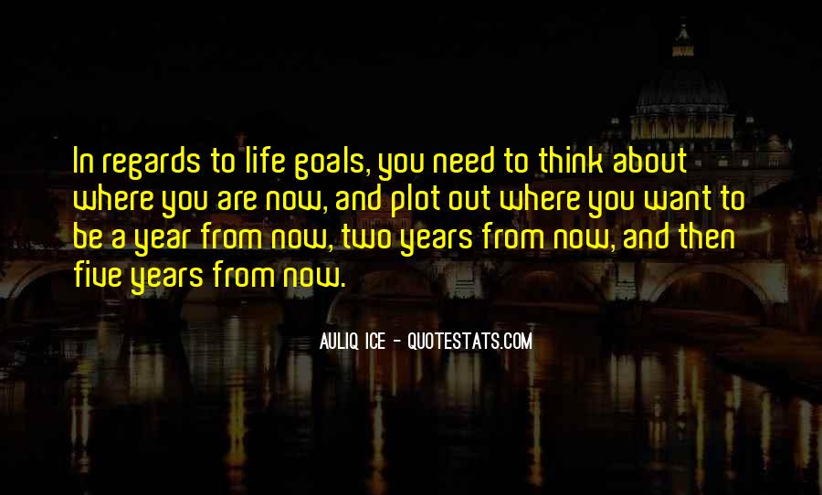 Quotes About Setting Goals In Life #842243