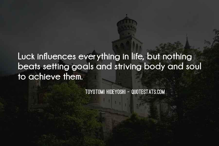 Quotes About Setting Goals In Life #926336