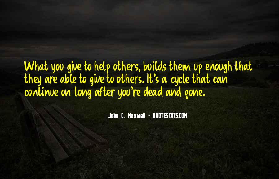 Quotes About Having Enough And Giving Up #107060