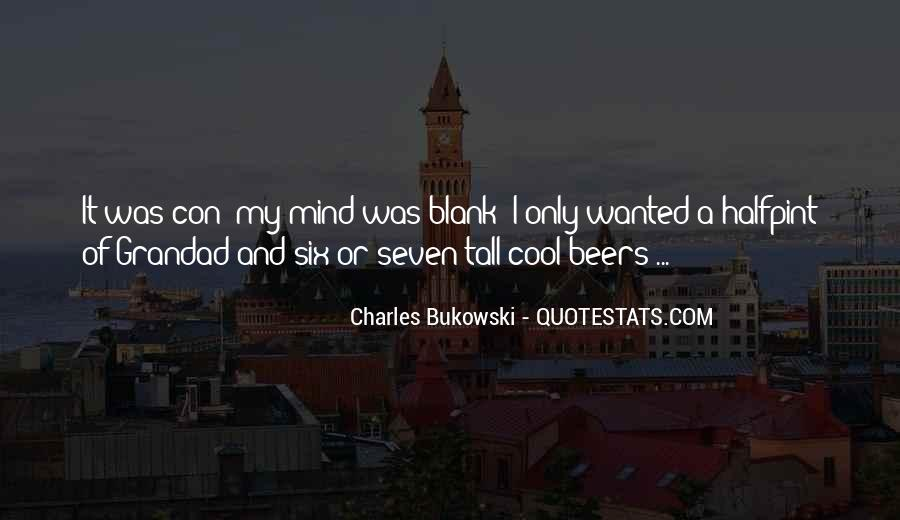 Quotes About Blank Mind #1846894