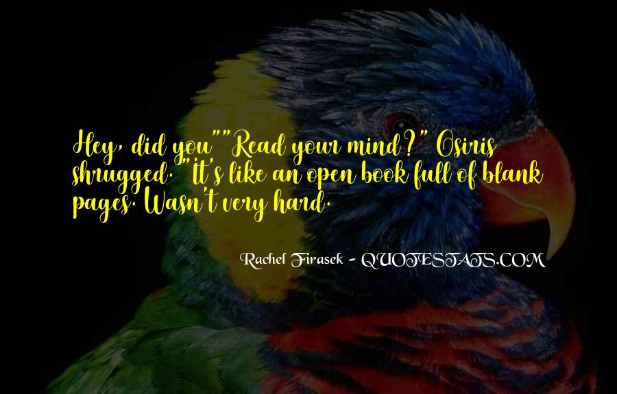 Quotes About Blank Mind #40269