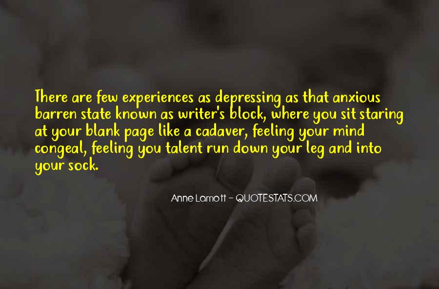 Quotes About Blank Mind #531139