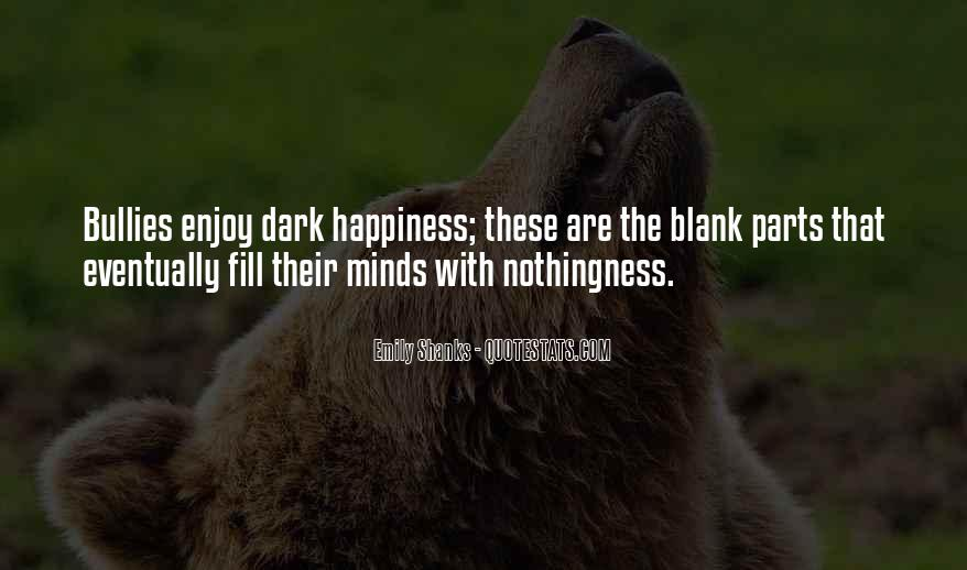 Quotes About Blank Mind #695506