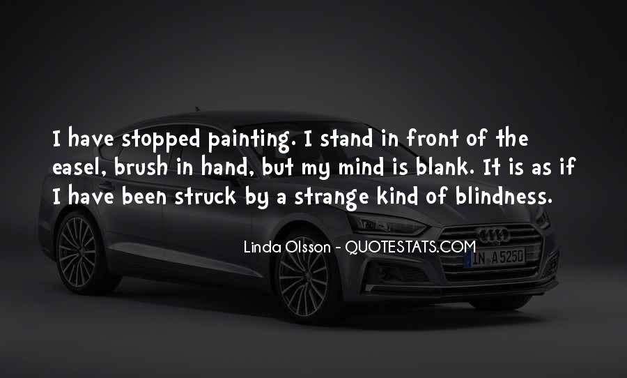 Quotes About Blank Mind #781148