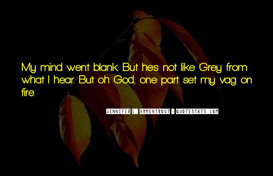 Quotes About Blank Mind #781341