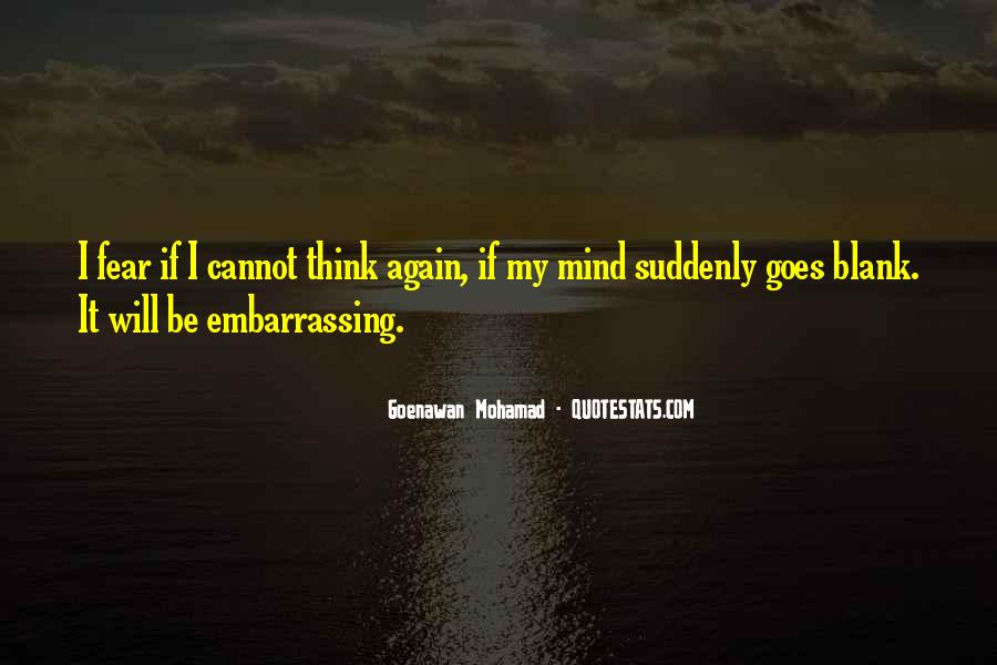 Quotes About Blank Mind #781441