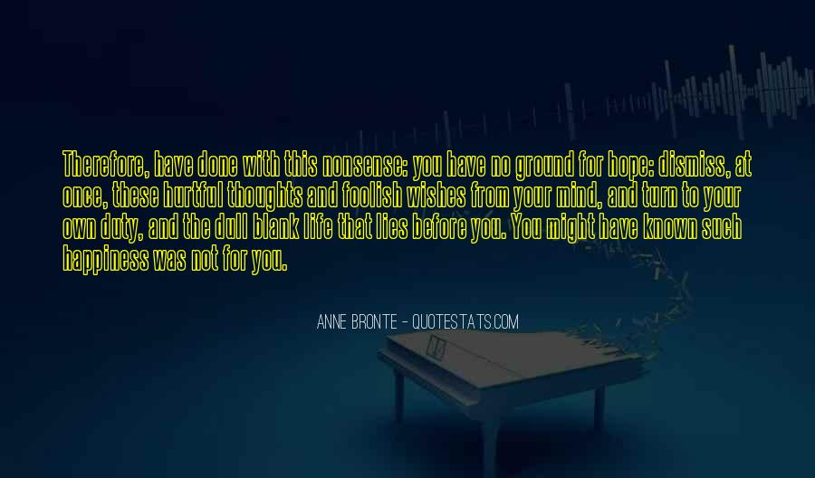 Quotes About Blank Mind #805379
