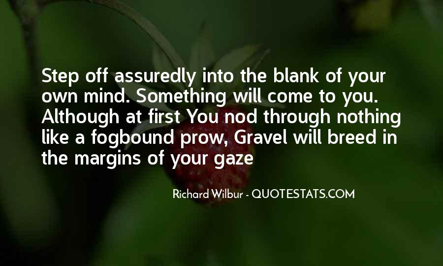 Quotes About Blank Mind #861874