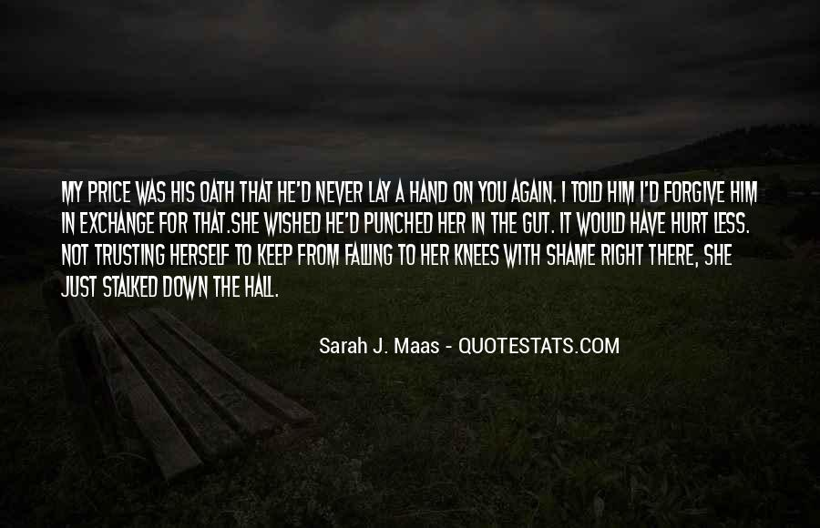 Quotes About Trusting Someone Who Has Hurt You #1244675