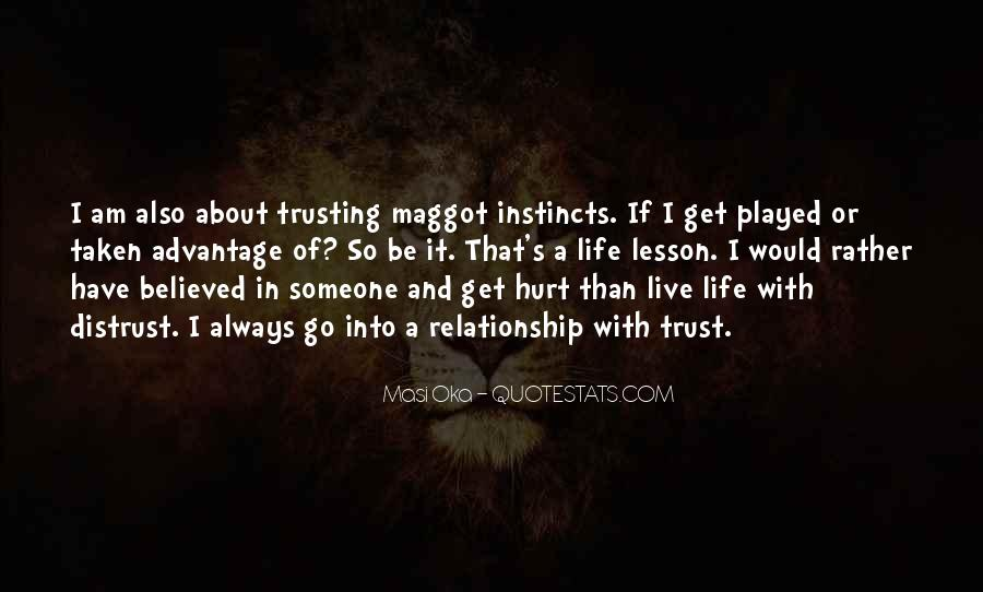 Quotes About Trusting Someone Who Has Hurt You #1266275