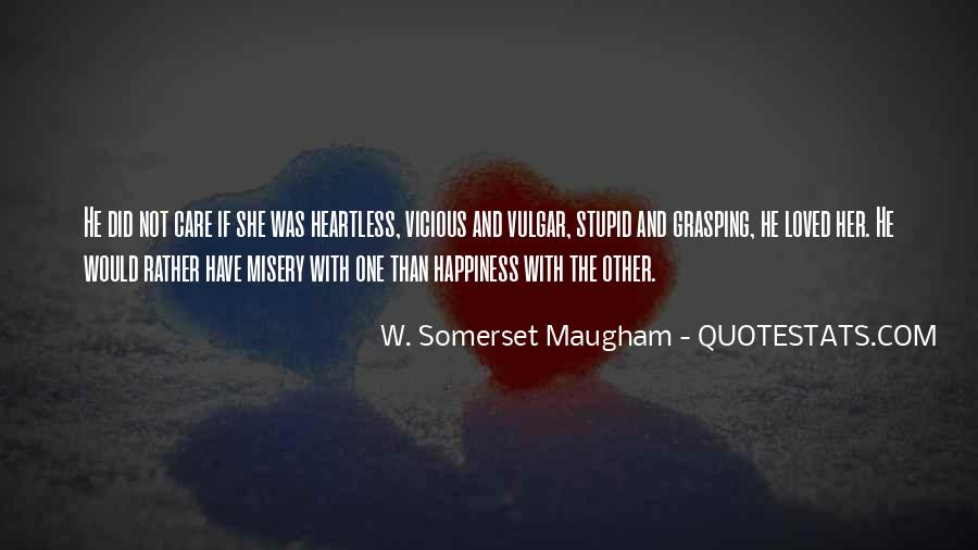 Quotes About Misery And Love #1205122
