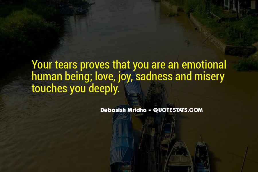 Quotes About Misery And Love #1445407