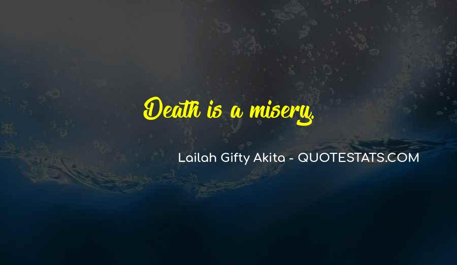 Quotes About Misery And Love #181211