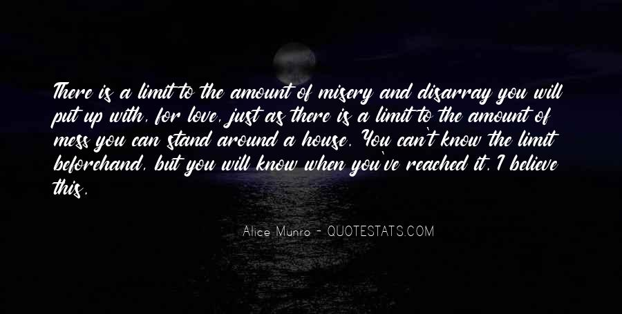 Quotes About Misery And Love #426102