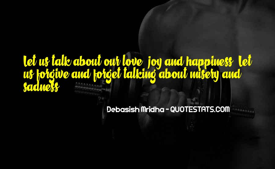 Quotes About Misery And Love #585567