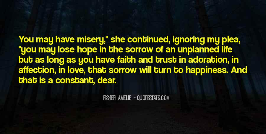 Quotes About Misery And Love #781911