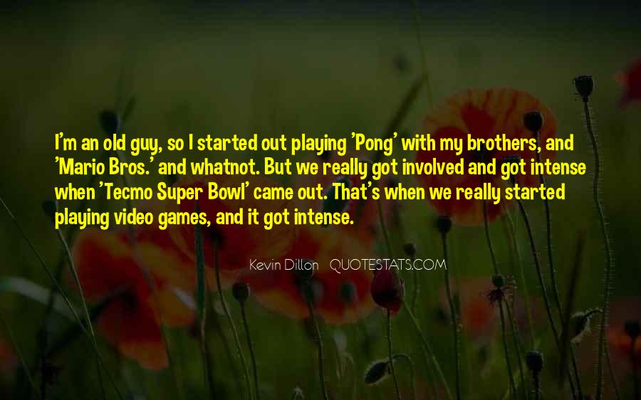 Quotes About Mario Bros #1390639