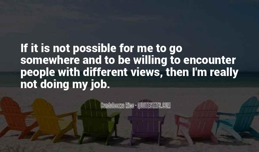 Quotes About Not Possible #17675