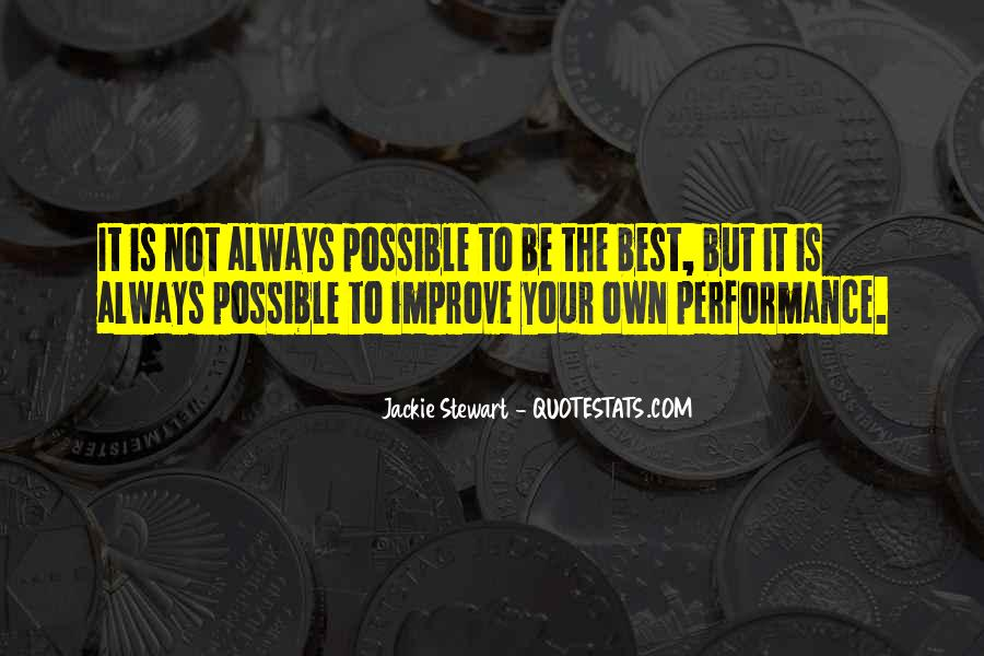 Quotes About Not Possible #28540