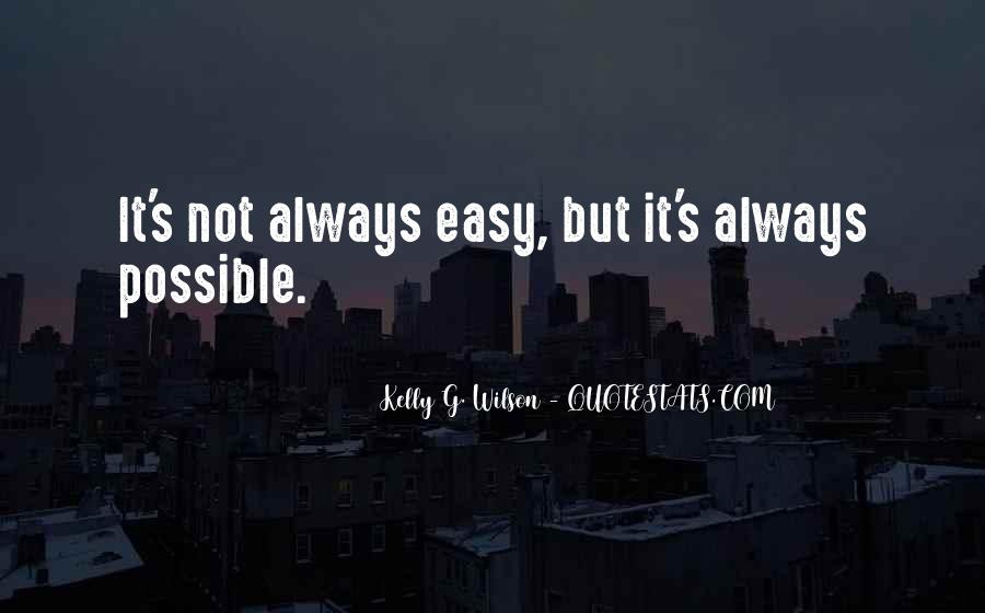Quotes About Not Possible #6083