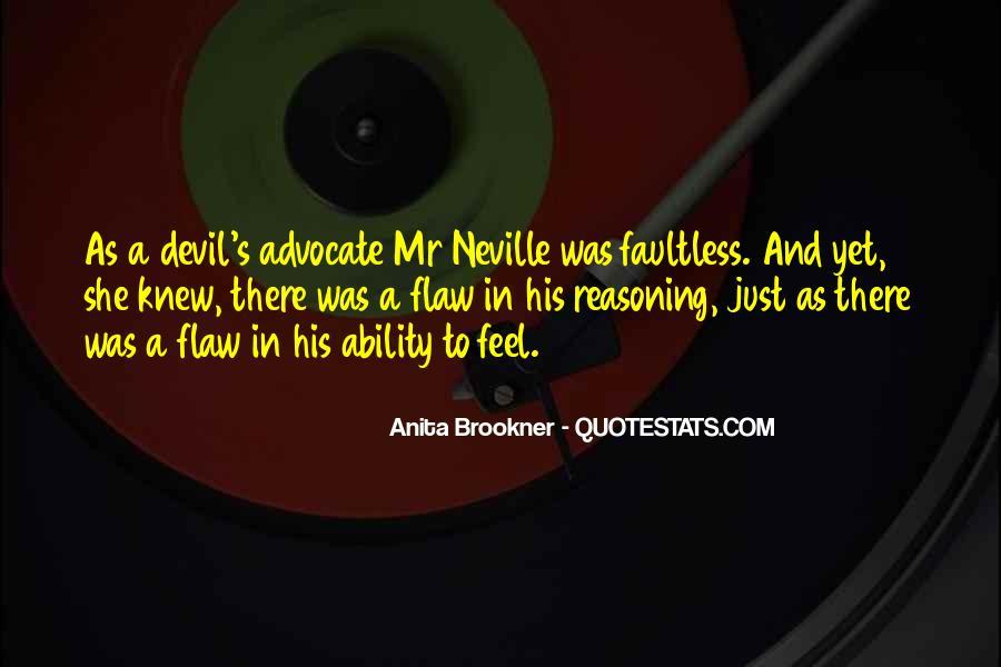 Quotes About Devil Advocate #387523