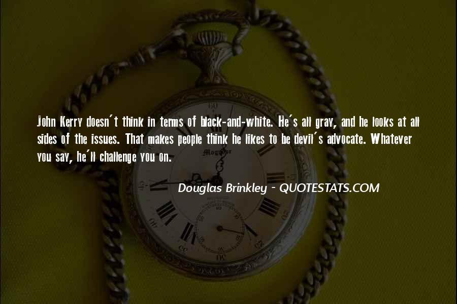Quotes About Devil Advocate #619568