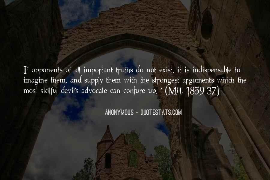 Quotes About Devil Advocate #898118