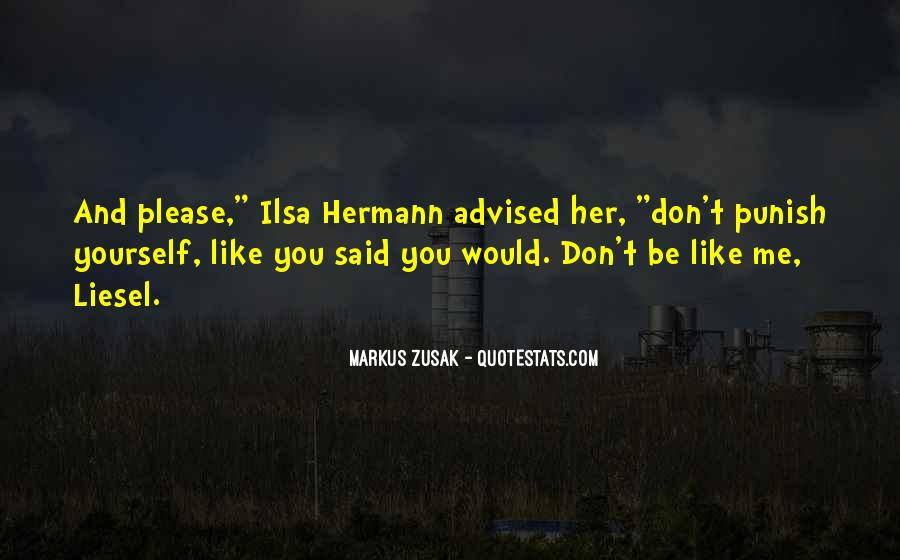 Quotes About Ilsa Hermann #1020155