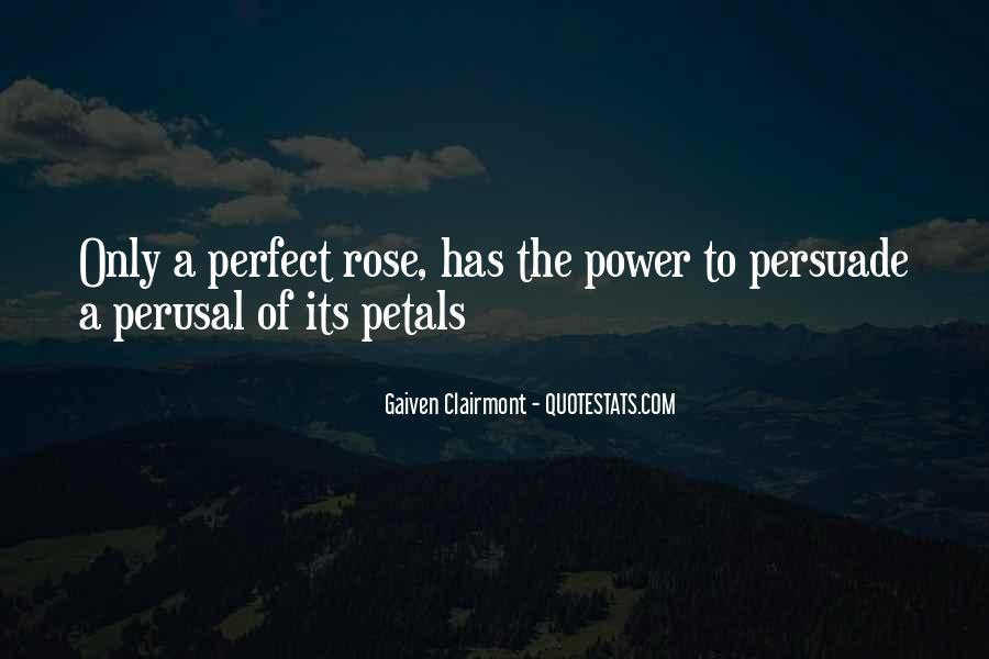 Quotes About Rose Petals #1580907