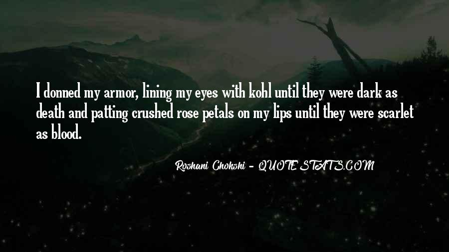 Quotes About Rose Petals #440923