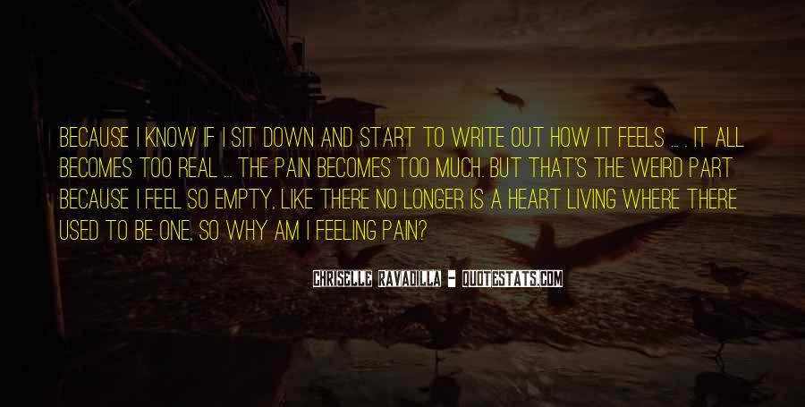 Quotes About Pain And Heartbreak #236042